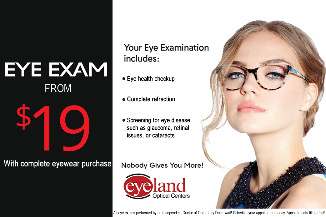Vision Exams Discount